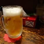 トモ - 2016.05 生ビール(550円)