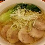 西武特別食堂 ホテルオークラ - 鶏そば1,490円