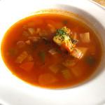 キッチン エイジィー - ランチスープ   ミネストローネ