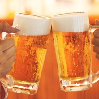 こだわりのアサヒビールをご堪能下さい