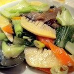 龍門新館 - 青菜炒めです
