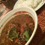 スープカレー専門店 kuu - ひき肉ビビンバカレー