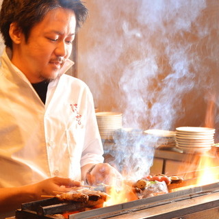 ★新鮮な串を特注の焼き台で丁寧に♪旨味が凝縮された一本☆