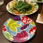 欅亭 - H28.05.13 塩沢産「青菜のソテー」
