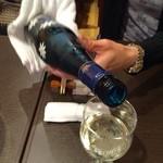欅亭 - H28.05.13 ドイツ産白ワイン「BLUE NUN