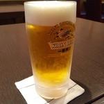 欅亭 - H28.05.13 キリン生ビール