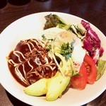 Cafe de 武 - ロコモコどん