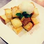 Cafe de 武 - マンスリーメニュー ハニートースト