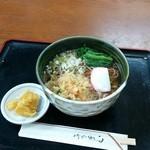 そば処 と与だ - 料理写真:たぬきそば(650円)。う~