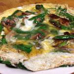 51375340 - レバニラ卵とじ  750円。