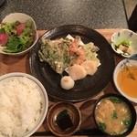 51375375 - 〈お昼の献立その3〉天ぷら定食900円