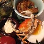 楽膳柿沼 - 蟹アップ