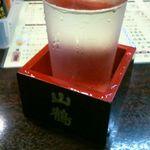 鶏太郎 - 菊正宗辛口200円なり。