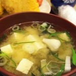 藤屋食堂 - 味噌汁