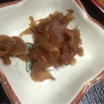 精養軒 - 炒飯セット¥600に付いてきた生姜煮