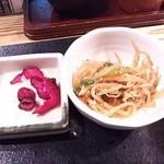 九州 熱中屋 - 香の物・小鉢