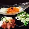 冷麺、又はピビン麺&焼肉丼プレート