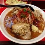 51379442 - 辛口ガチ味噌肉ソバ〜♪( ´θ.`)ノ¥800円