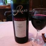 レザン ドォール - オーストラリアの赤ワイン、シラーズ。