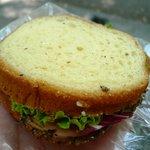 タケウチ - ペッパーシンケンとクリームチーズのブリオッシュ(260円)