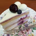 ラ・パレット - チェリーとリコッタチーズのケーキ