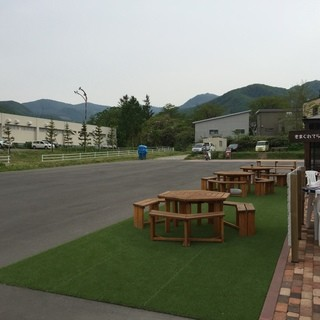 40台収容可能の駐車場