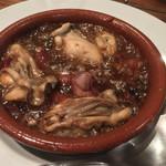 51384312 - 牡蠣とホタルイカのアヒージョ