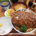 51386287 - デミソースかつ丼 ¥900-