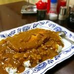山盛食堂 - カツカレー ¥500-