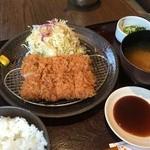 51389116 - ヒレカツ御飯(¥1296)
