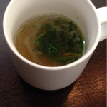 Creative Dining SAZIO - スープ、飲む前