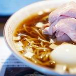 らぁめん小池 - 淡麗煮干しスープ×醤油