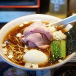 らぁめん 小池 - 料理写真:淡麗煮干しスープ×醤油