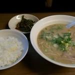 大道 - ラーメン定食&ニラ 600円!