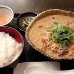 瀬戸内製麺710 - ひやひやカレー&卵かけご飯