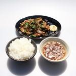 らーめん流星 - ヒレ肉生姜焼き定食(販売休止中)
