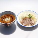 らーめん流星 - カレーつけ麺(販売休止中)