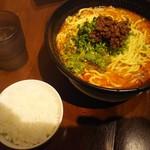 51398831 - 坦々麺(大盛)920円+ジャスミンライス100円