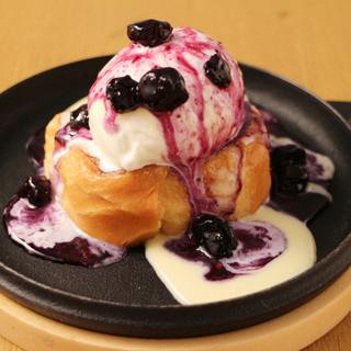 自家製シェフ手作りYONAYONAの美味デザート!