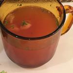 カフェ フロリ - ミネストローネ風のスープ
