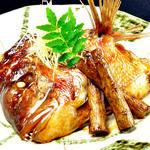 しゃくしゃく - 真鯛のかぶと煮