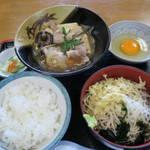 江戸家 - 肉豆腐セット750円