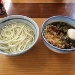 こう平うどん - 天ぷら、玉子うどん