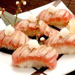 時の間 - 炙りトロのにぎり寿司