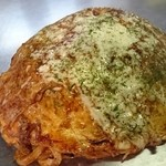 広島流お好み焼 つかさ - キムチチーズイカ天スペシャルチャンポン♪