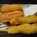 福えびす - 牛串、ウインナー