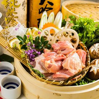 極上宴会プラン全7品2999円~《京丹波地鶏を新橋で♪》