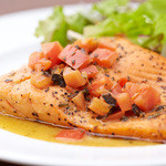 Pine Tree Bless - Grilled Salmon Plate