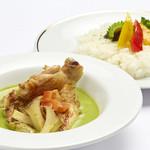 沖縄やんばる鶏 グリーンカレー
