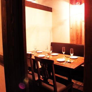 【少人数個室】2~6名様用テーブル個室
